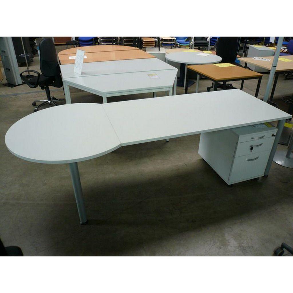 HT Schreibtisch mit Besprechungsanbau - Büromöbel direkt vom Hersteller