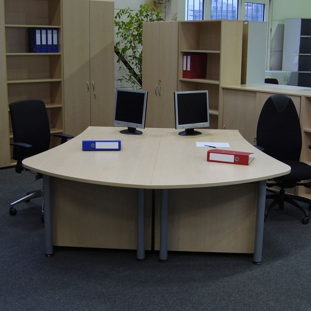 HT Doppelarbeitsplatz - Büromöbel direkt vom Hersteller